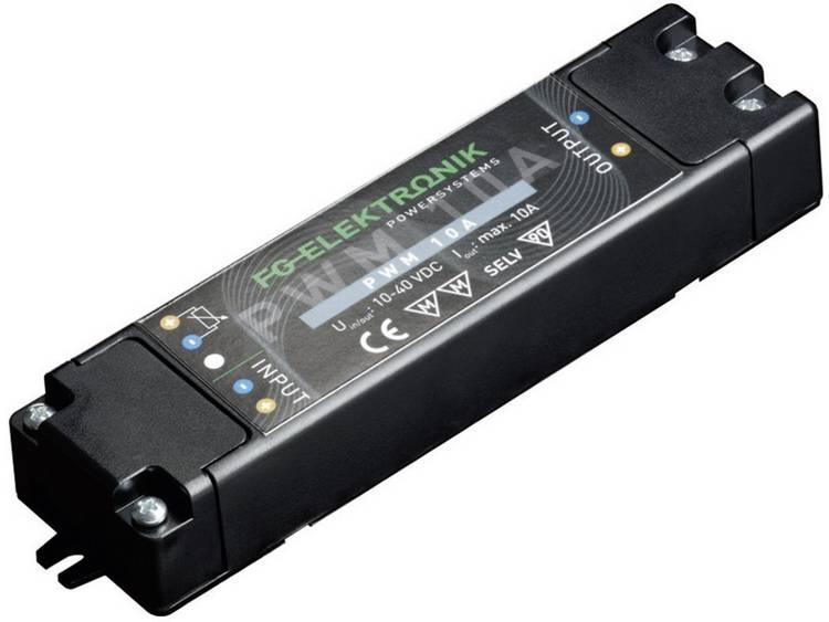 FG Elektronik DCC-PWM 10 EP LED transformator Konstantström 0 - 10 A 12 - 40 V/DC dimbar, möbelregistrering