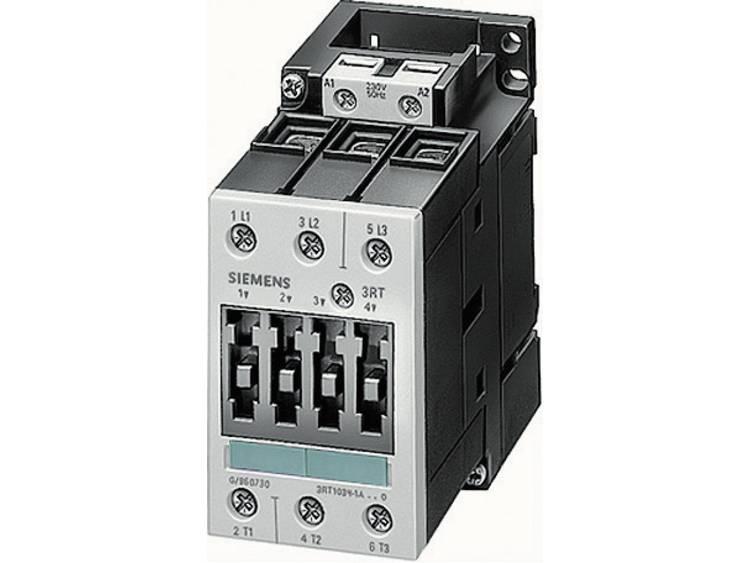 Siemens Kontaktor 1 st 3RT1024-1BB40 Siemens 3 NO 5.5 kW 24 V/DC 12 A