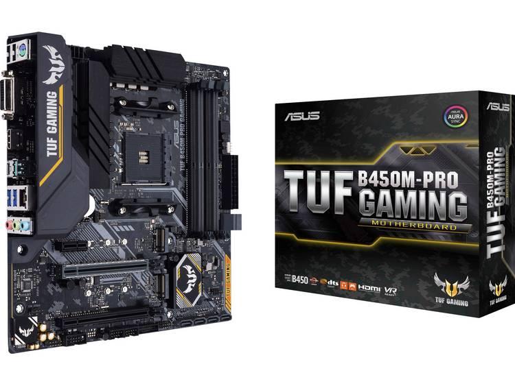 Asus Moderkort Asus TUF B450M-Pro Gaming AMD AM4 Micro-ATX AMD® B450