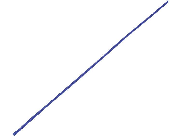 TRU COMPONENTS 1568180 CBBOX0307-BL Flätad slang Blå PET 3 till 7 mm 10 m