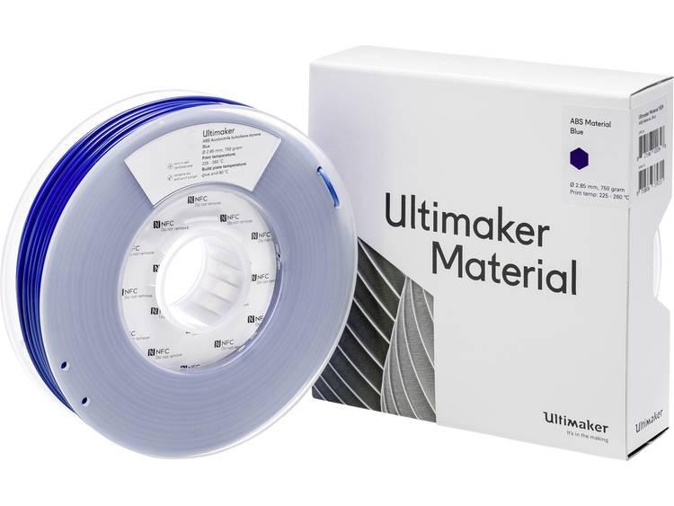 Ultimaker ABS - M2560 Blue 750 - 206127 3D-skrivare Filament ABS-plast 2.85 mm Blå 750 g
