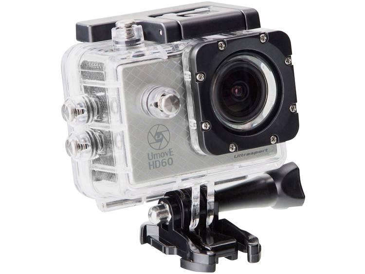 Ultrasport HD60 READY Silber Actionkamera Full-HD, vattentät
