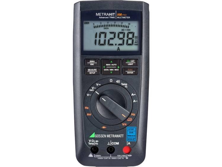Gossen Metrawatt METRAHIT AM PRO + GH Handmultimeter digital Kalibrerad enligt: DAkkS Display (Beräkningar): 12000