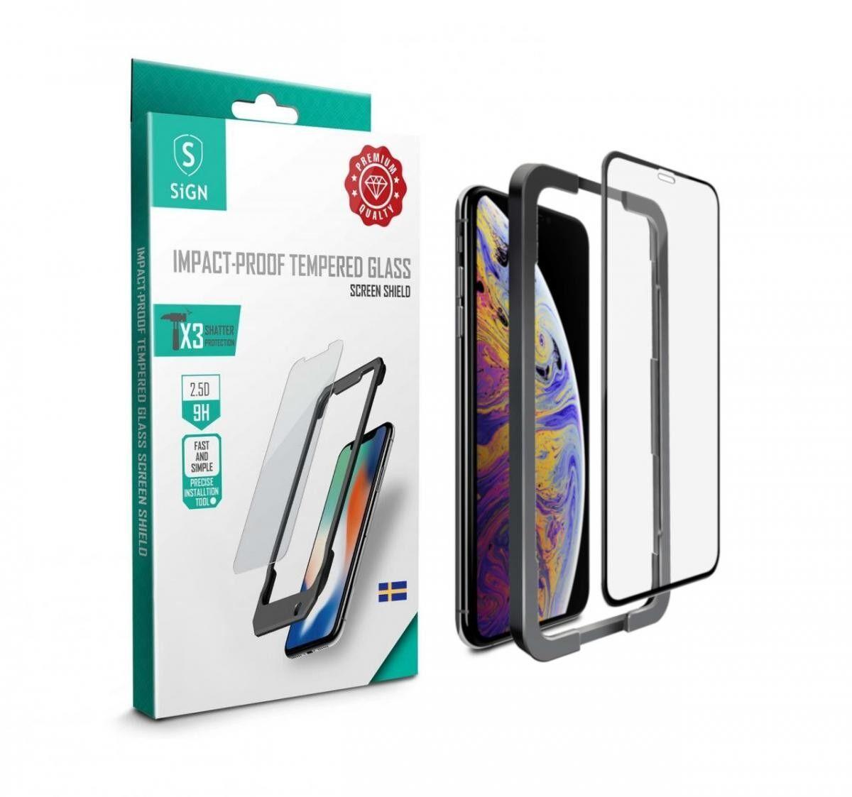 Apple Skärmskydd i härdat glas för iPhone 11 Pro Max och XS Max