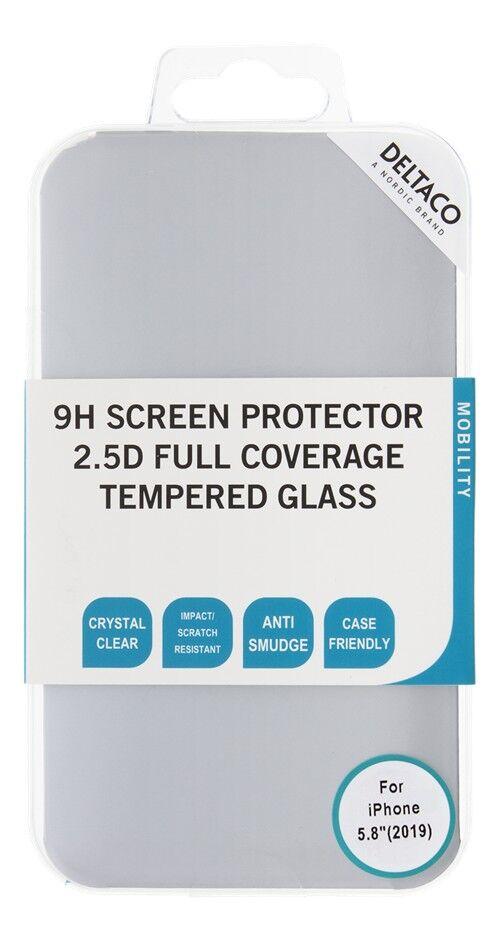 Deltaco Skärmskydd i härdat glas för iPhone 11 Pro med 9H 3D