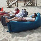 Uppblåsbar soffa till stranden ( Röd )