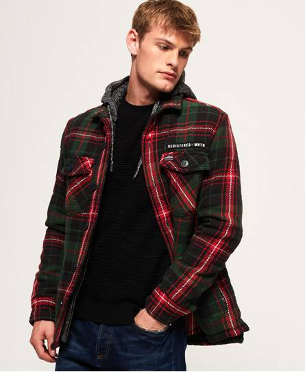 Superdry Everest Storm Hooded Jacket Jackets