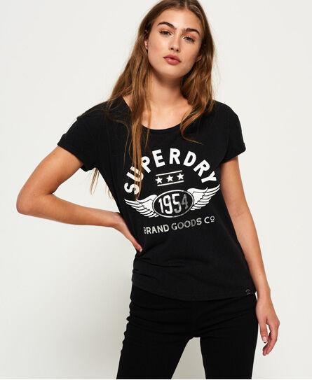 Superdry 1954 Brand Goods Slim Boyfriend T-shirt T Shirts