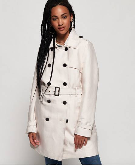 Superdry Belle Trench Coat Jackets and Coats