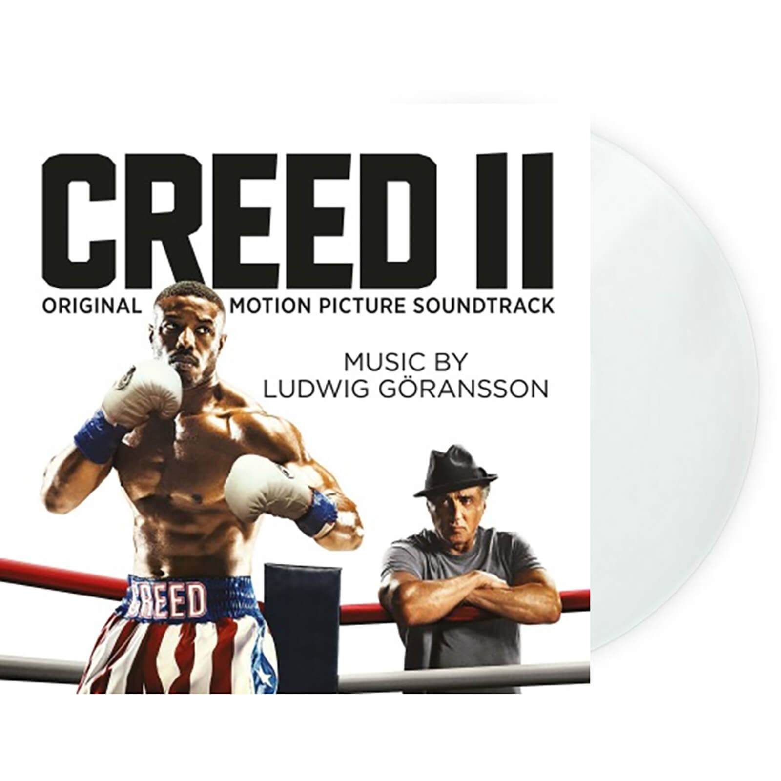 Music On Vinyl: At The Movies Ludwig Goransson - Creed II [LP] (LIMITED WHITE 180 Gram Audiophile Vinyl, PVC sleeve, mini-poster, sticker sleeve, numbered to 500)