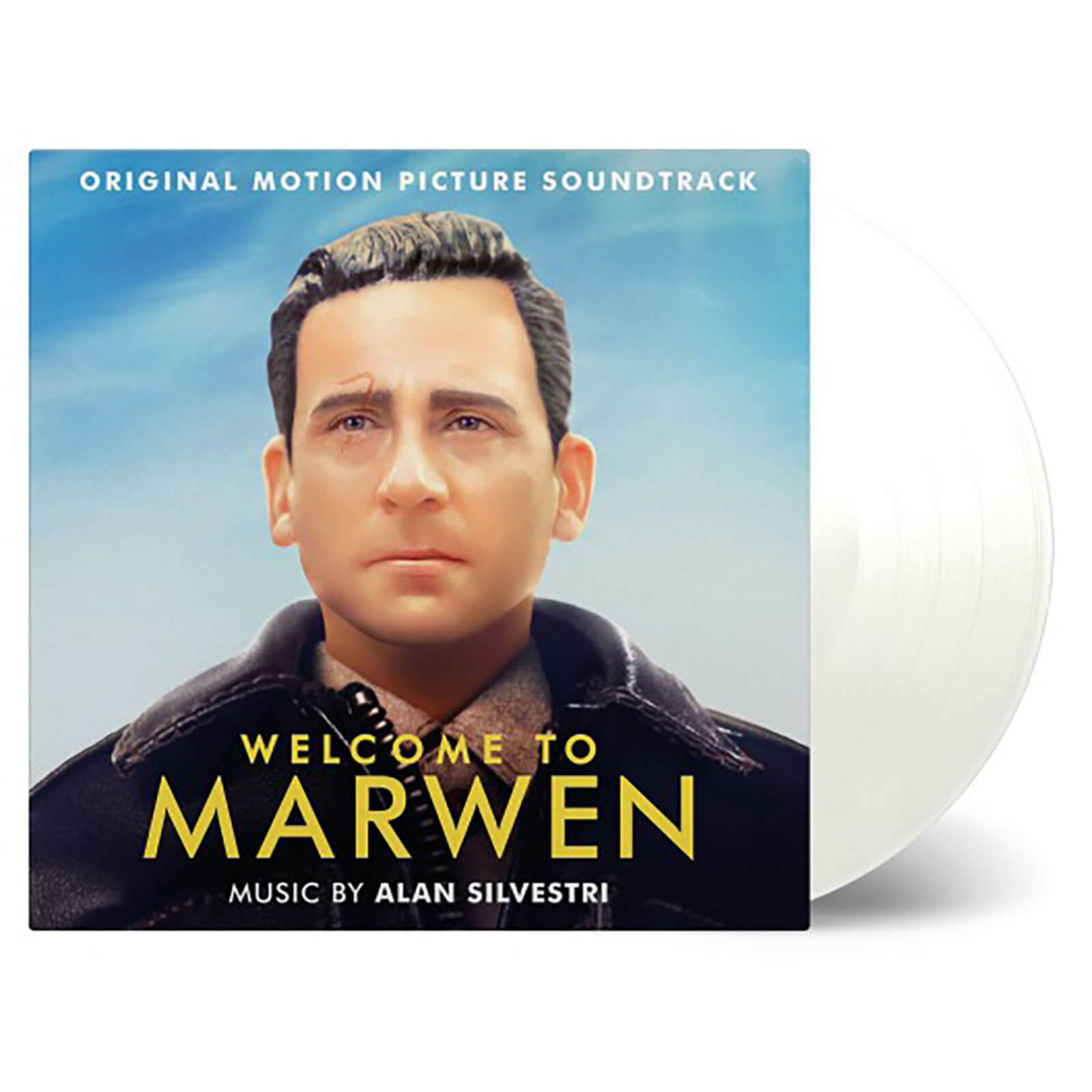 Music On Vinyl: At The Movies lan Silvestri - Welcome To Marwen (Soundtrack) [2LP] (LIMITED CLEAR 180 Gram Audiophile Vinyl, gatefold, PVC sleeve, numbered to 500)