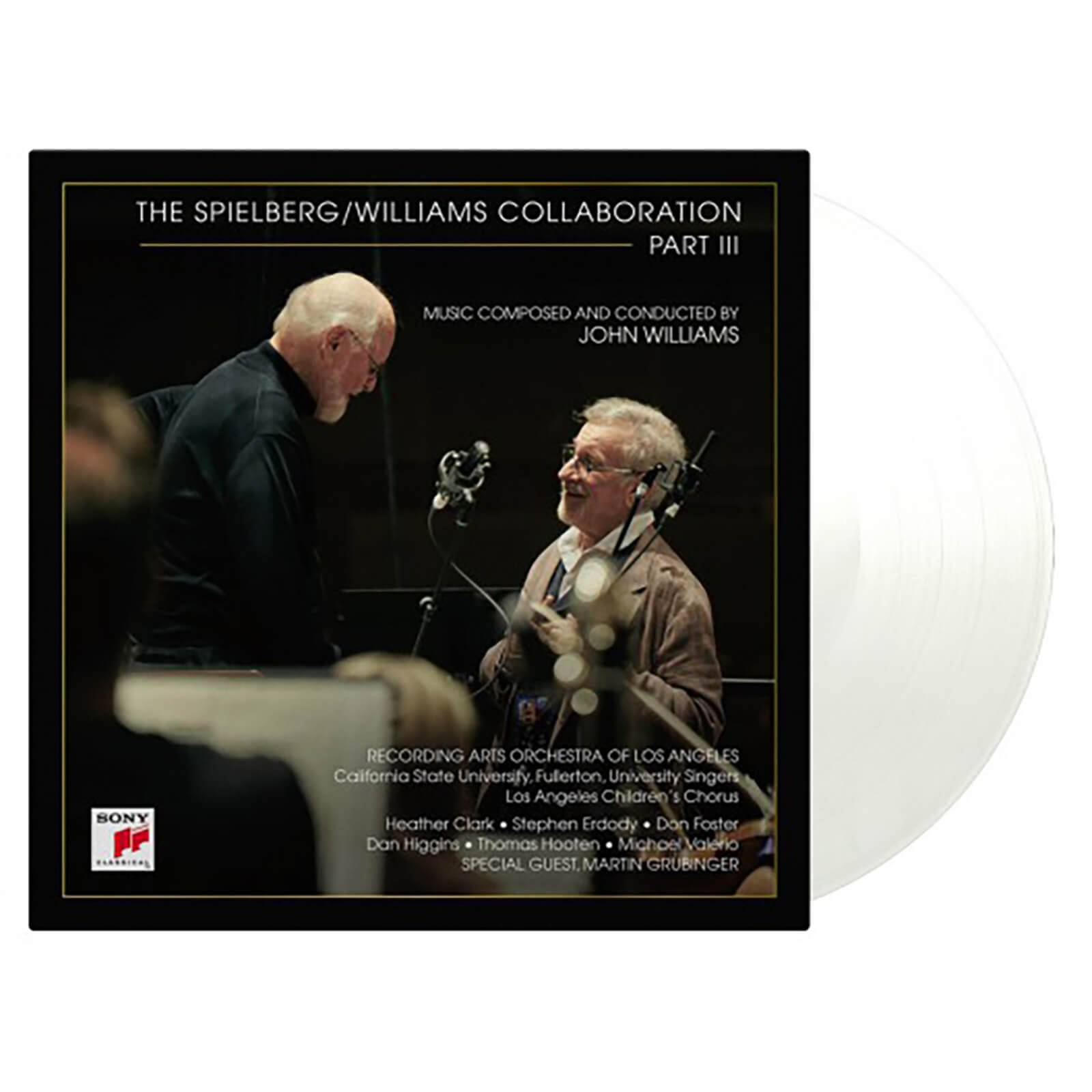 Music On Vinyl: At The Movies John Williams - The Spielberg/Williams Collaboration Part III [2LP] (LIMITED TRANSPARENT 180 Gram Audiophile Vinyl, gatefold, PVC sleeve, numbered to 1500)