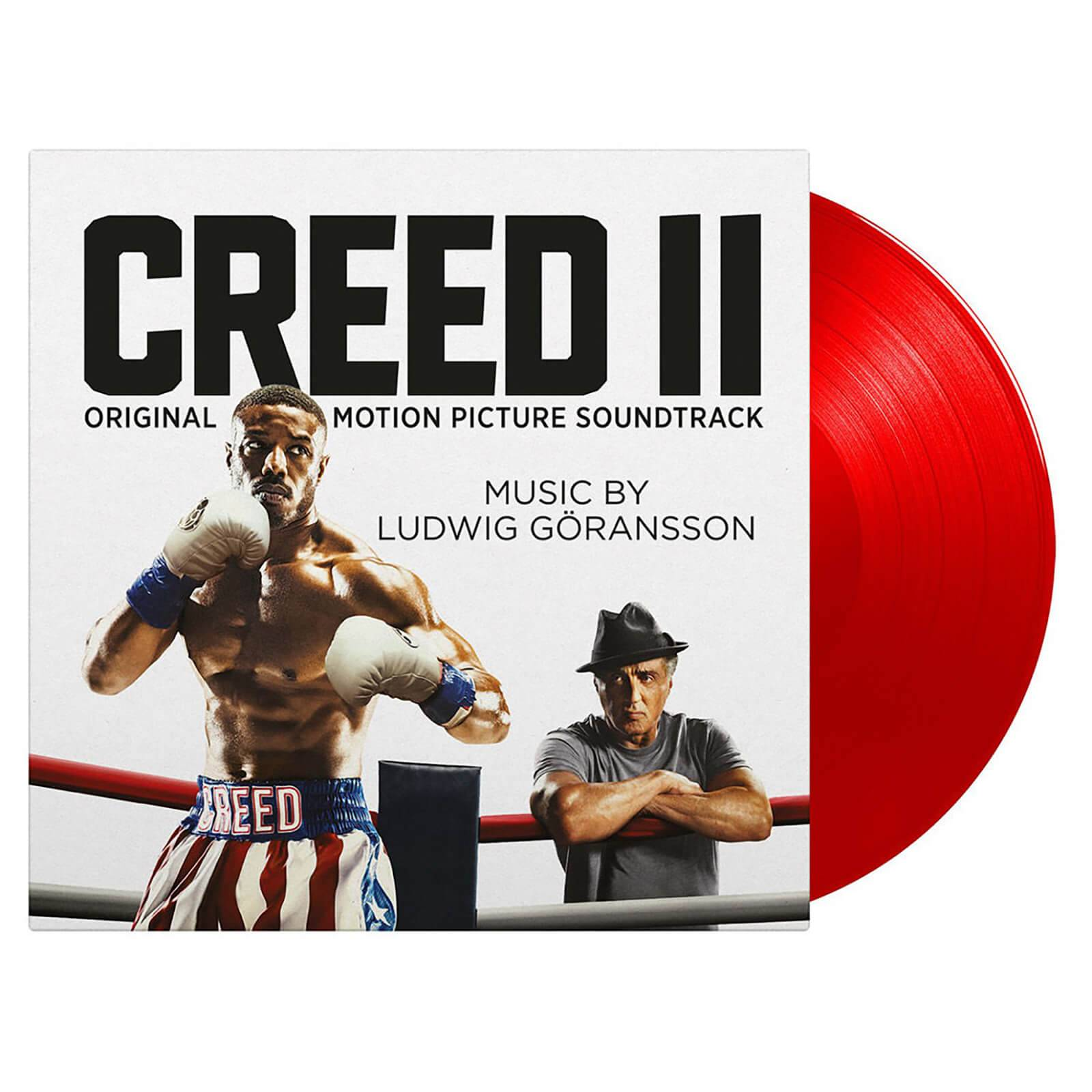 Music On Vinyl: At The Movies Ludwig Goransson - Creed II [LP] (LIMITED RED 180 Gram Audiophile Vinyl, PVC sleeve, mini-poster, sticker sleeve, numbered to 500)