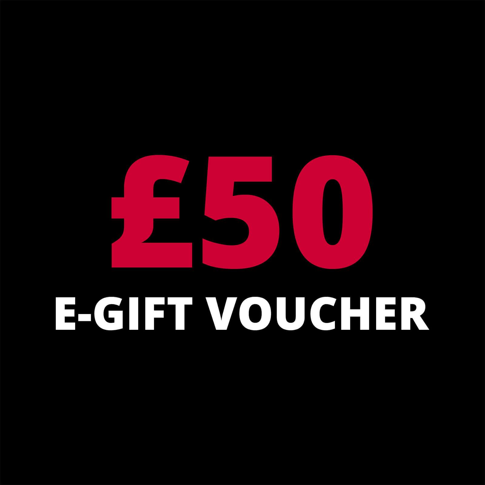 PBK £50 PBK Gift Voucher; unisex