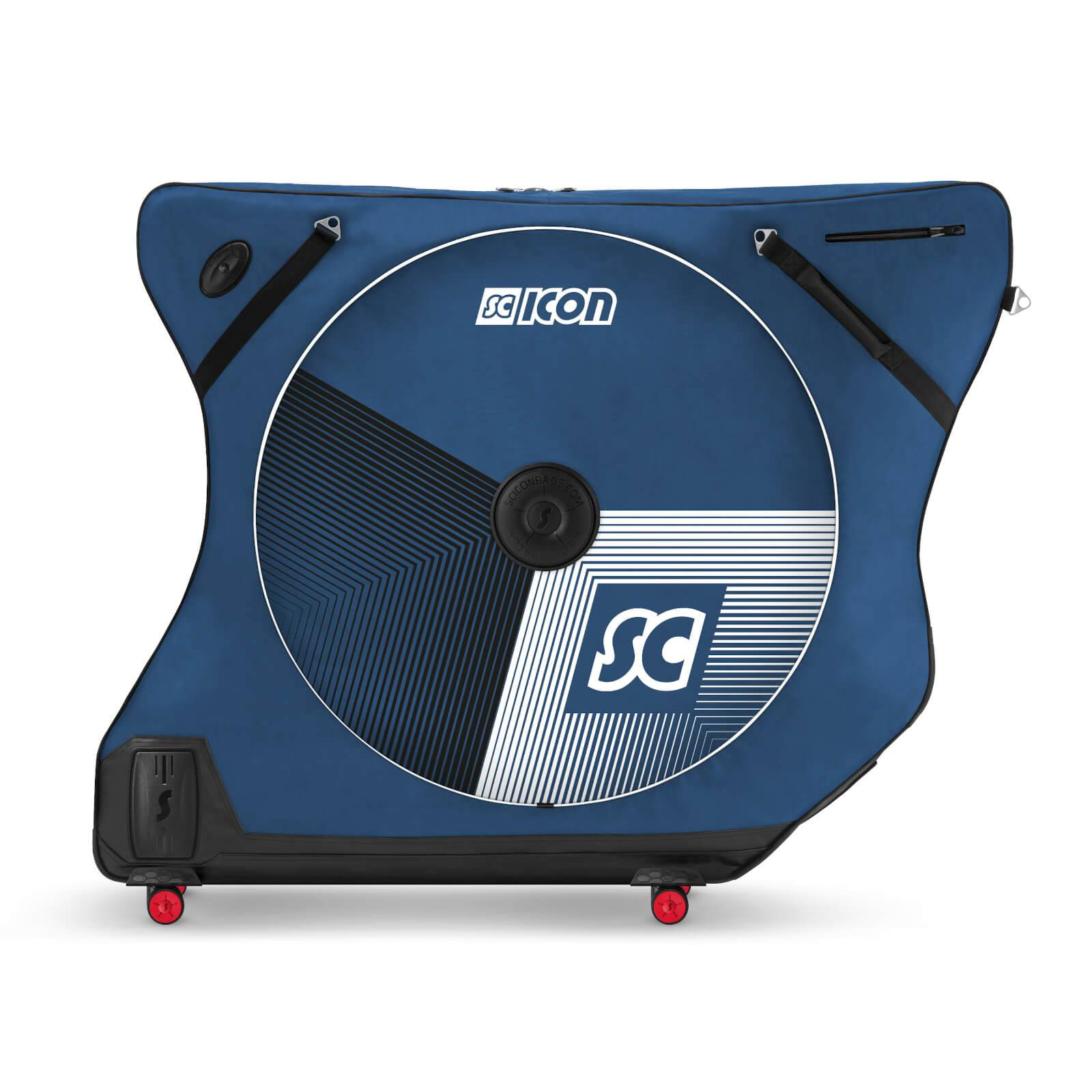 Scicon AeroComfort Road 3.0 TSA Ltd Edition Bike Bag With FREE Passport Wallet & Race Rain Bag - Stelvio Blue;