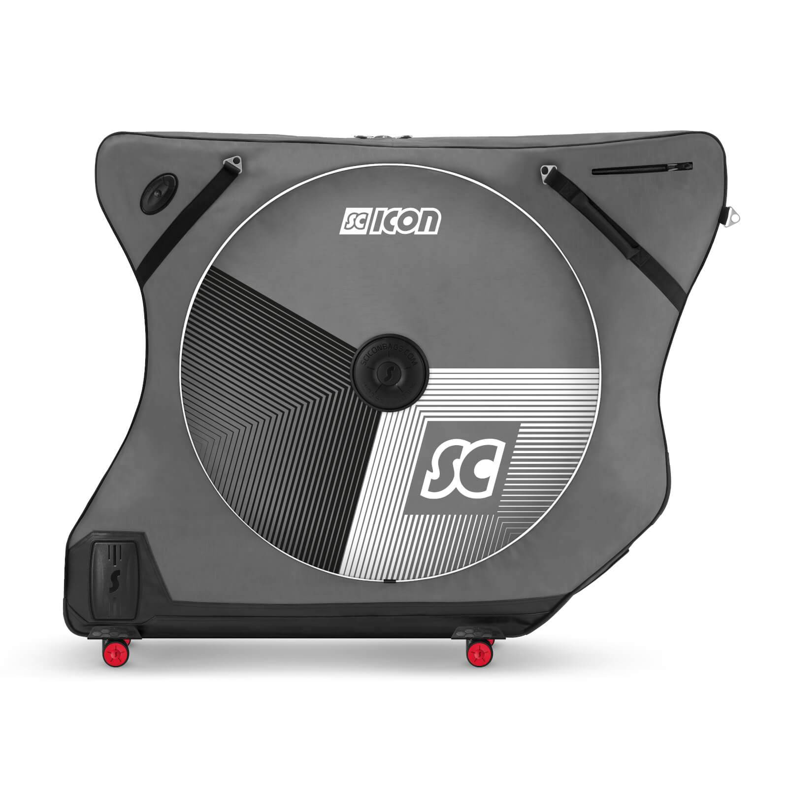 Scicon AeroComfort Road 3.0 TSA Ltd Edition Bike Bag With FREE Passport Wallet & Race Rain Bag - Stelvio Grey;