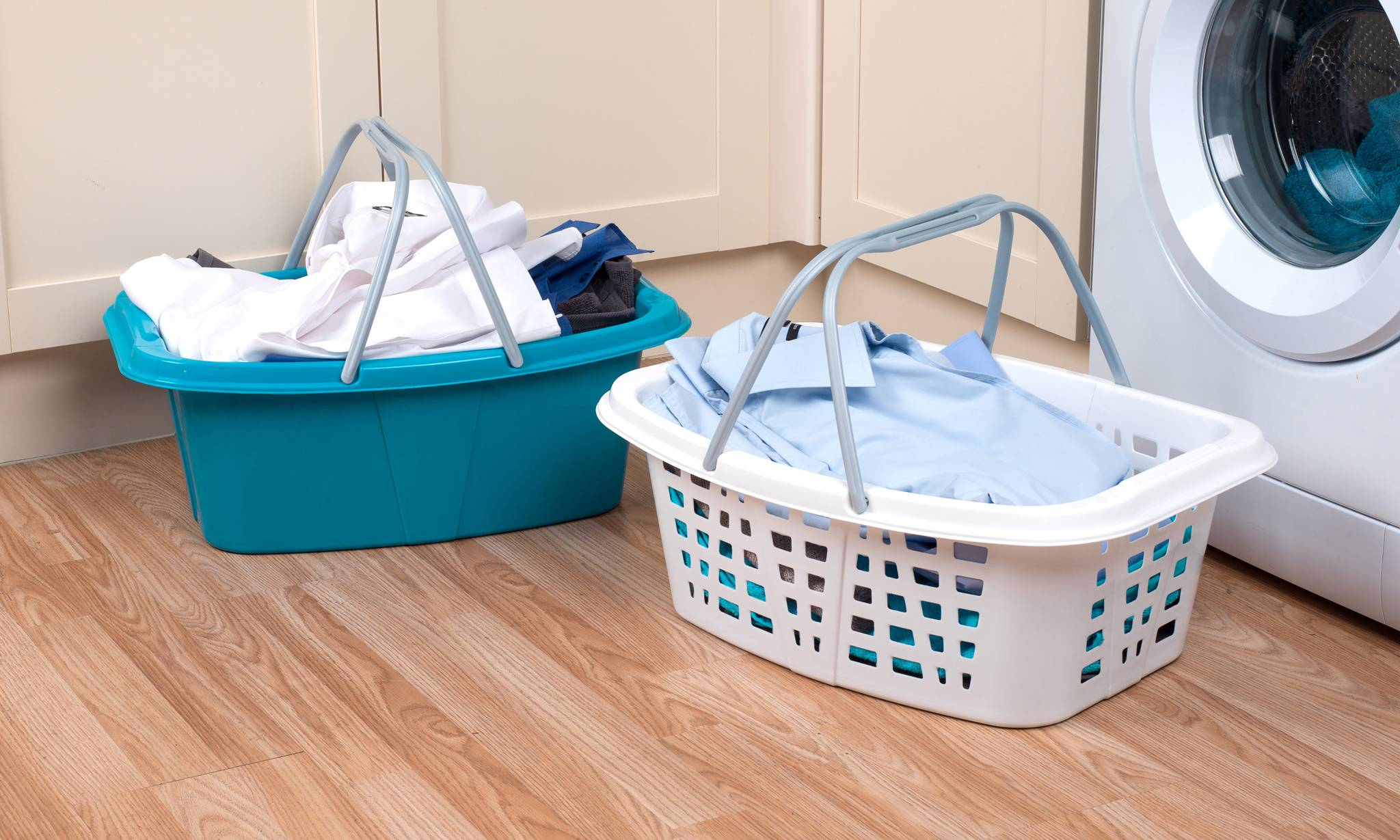 Beldray Set of Four Laundry Baskets with Handles
