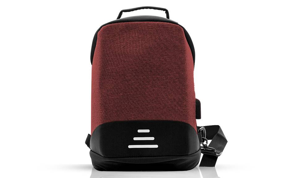 12.95 Aquarius Anti-Theft Backpack: Red - One/No Accessories (95355925)