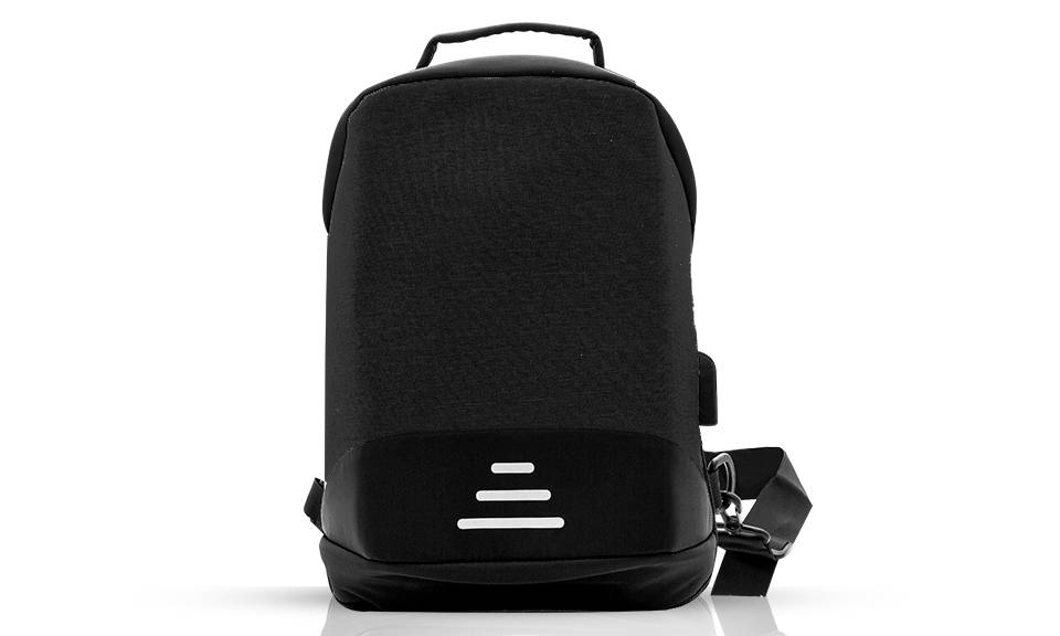 12.95 Aquarius Anti-Theft Backpack: Black - One/No Accessories (95355919)