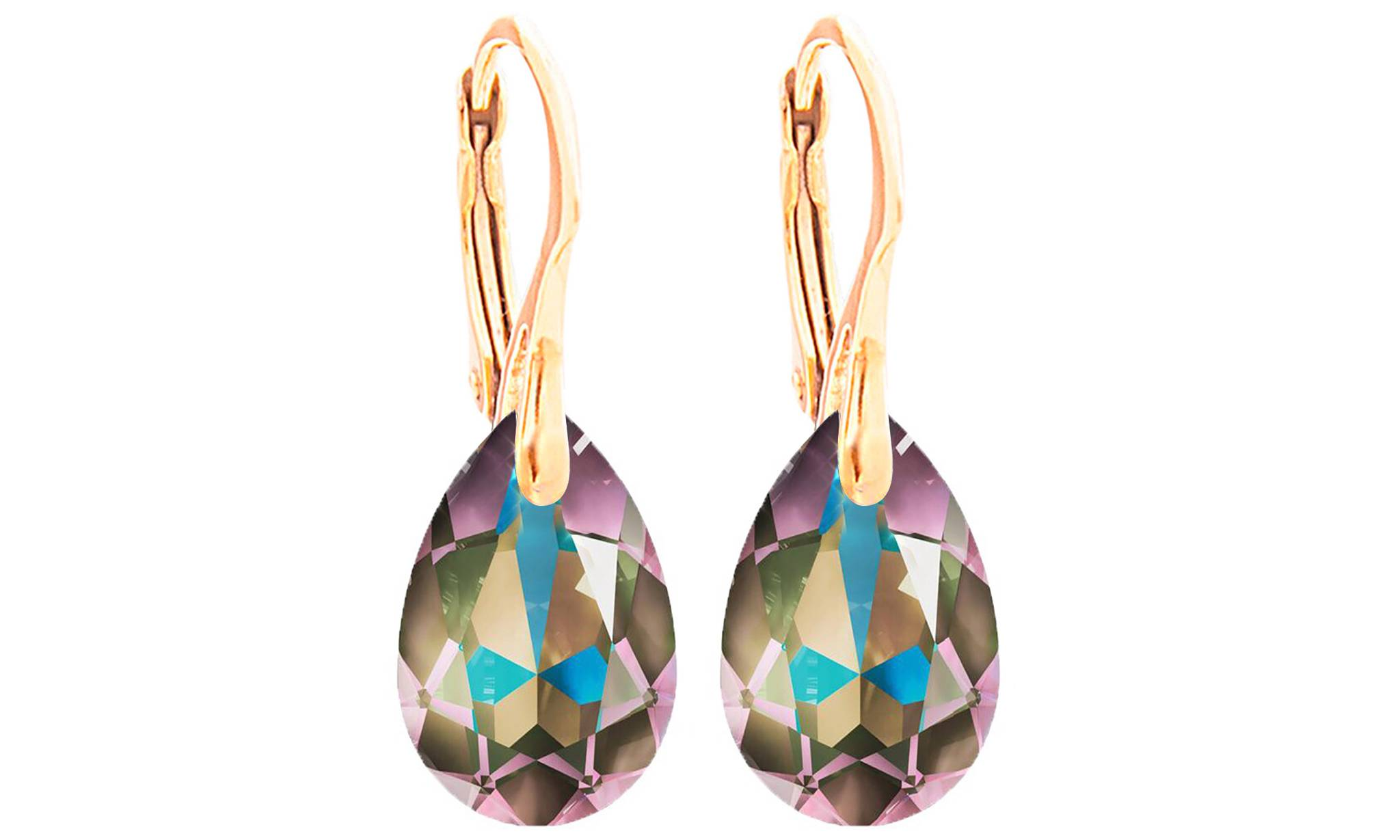 Ah! Jewellery® Ah! Jewellery® Ah! Jewellery Earrings with Crystals from Swarovski®: Paradise