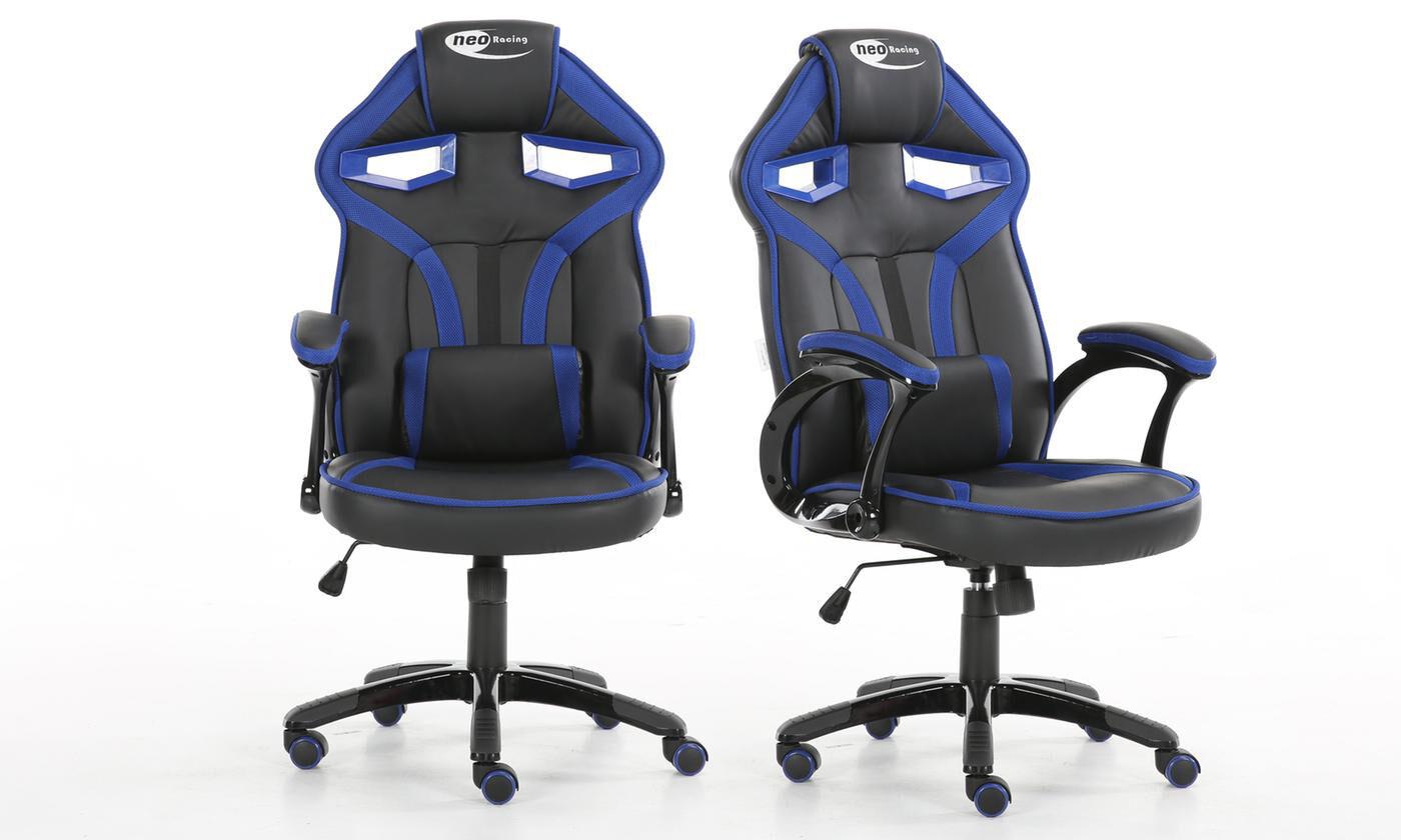 mega executive racing pro gaming adjustable computer chair