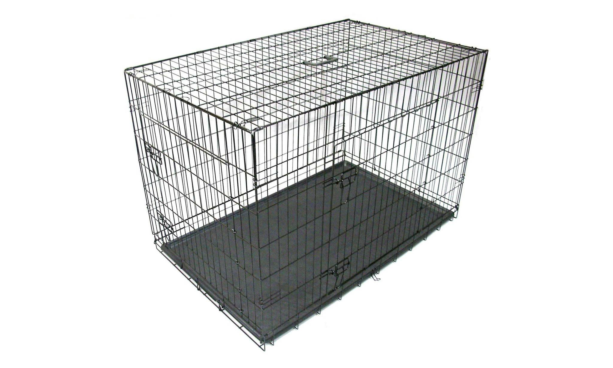 39.99 Gr8 Home Metal Pet Cage with Tray: 48""