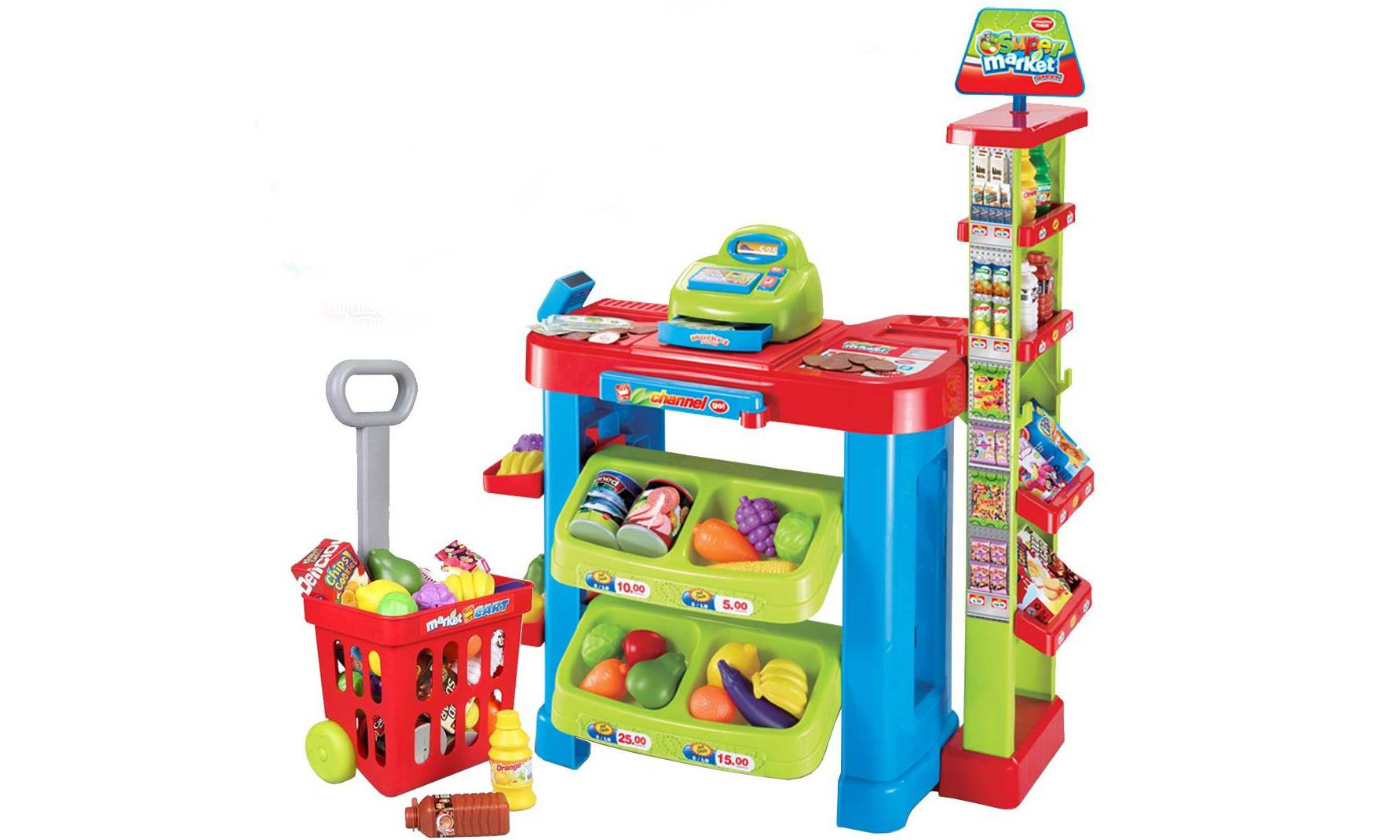 29.99 DEAO Kids' Supermarket Play Set with Accessories