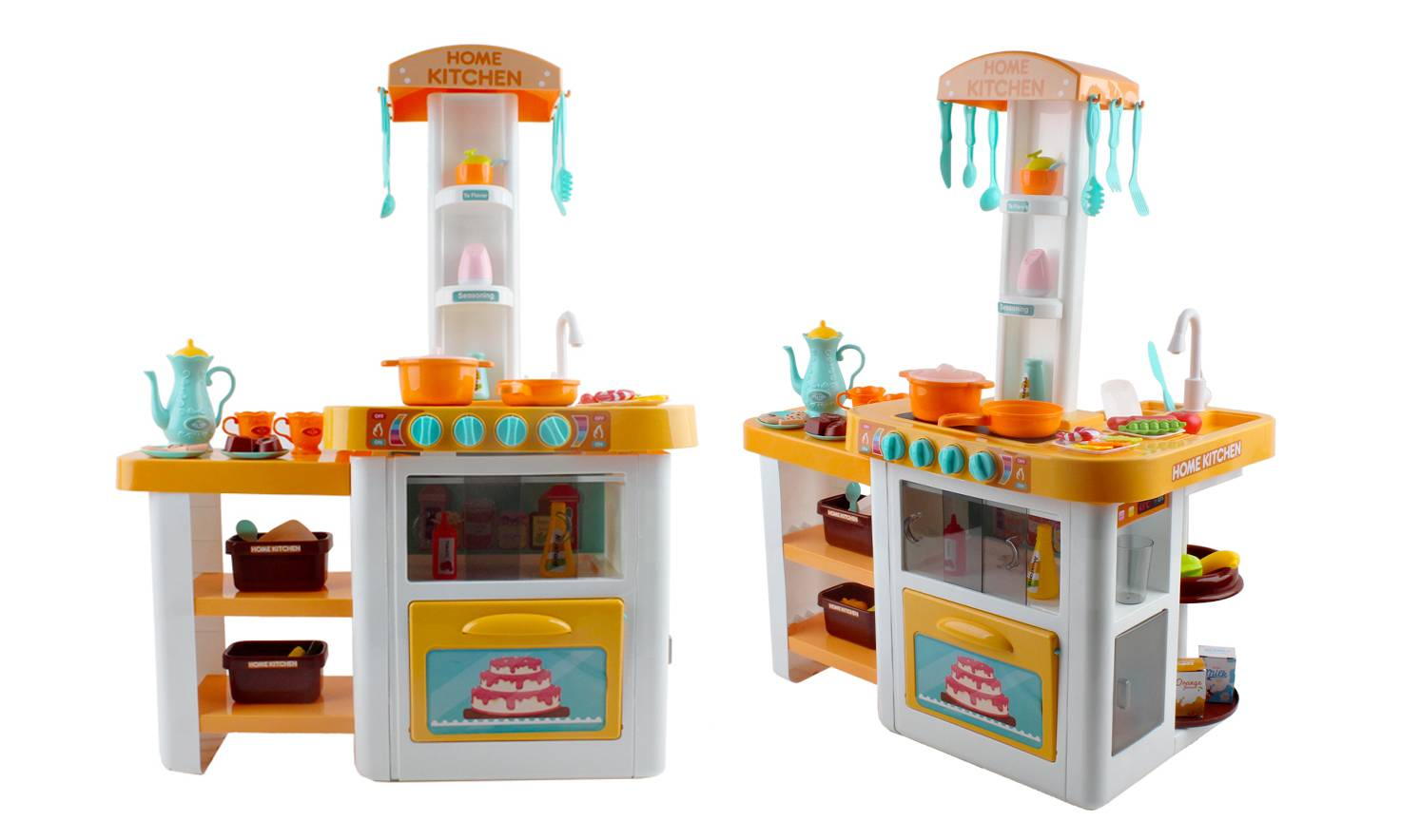 25.99 Kids Kitchen Playset with Lights, Sounds and Accessories