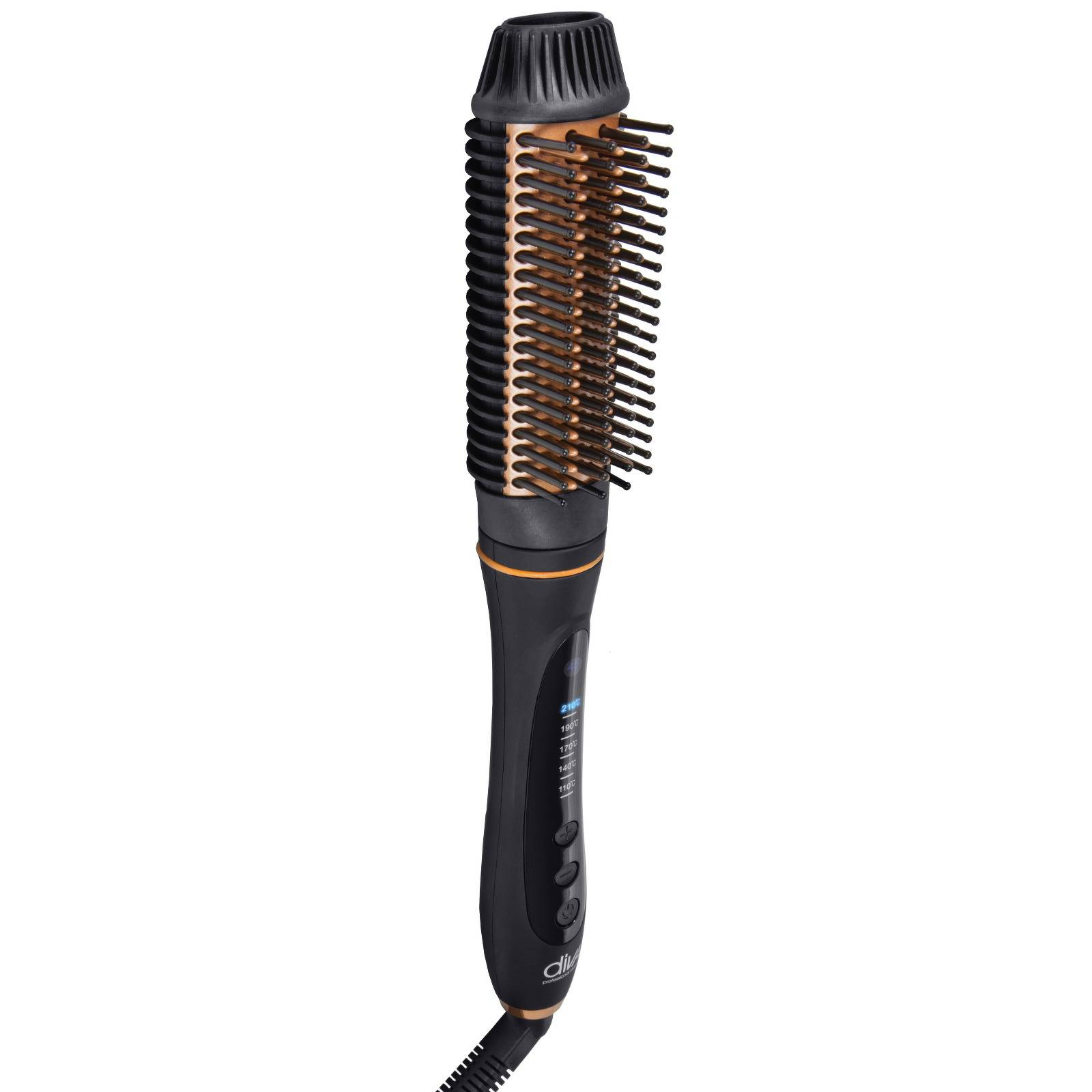 Diva Professional Styling - Accessories Radiant Shine Straight & Style Speed Brush Pro for Women