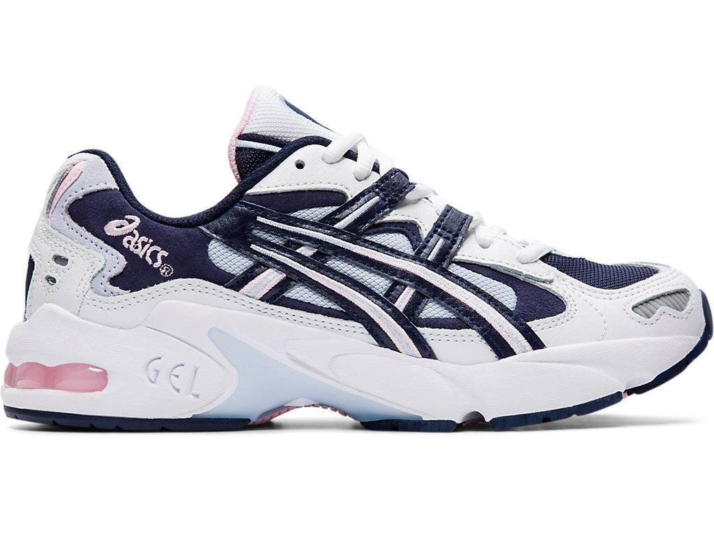 asics gel kayano 5 og white midnight size