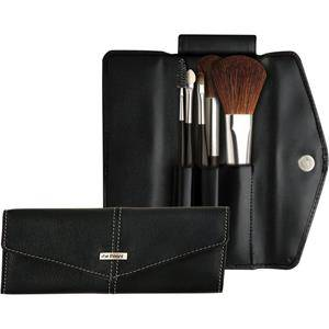 Da Vinci Basic Set Make-Up Brush Set Blush Brush round + Powder Brush oval + Lip Brush + Eyelash brush + Applicator 1 Stk.