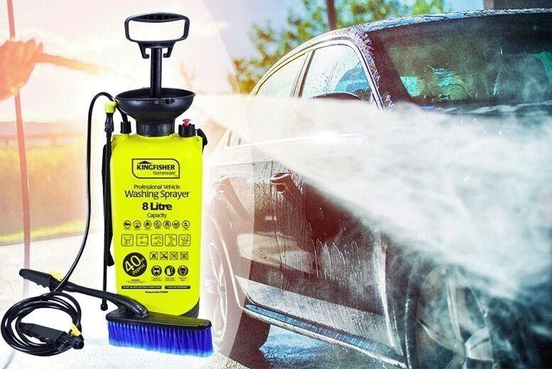 8L High Pressure Sprayer & Washer