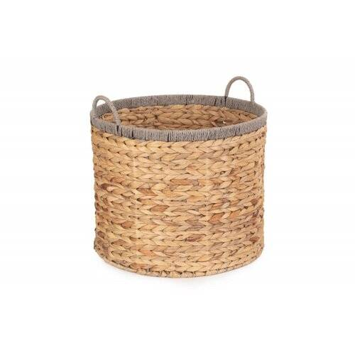 August Grove Wicker Basket August Grove Size: 37 cm H x 45 cm W x 45 cm D  - Size: 19cm H X 27cm W X 37cm D