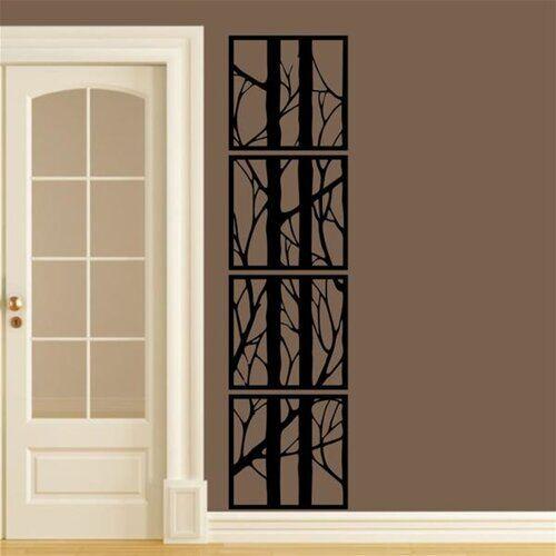 Ophelia & Co. 4 Piece Design 69 Metal Wall Décor Set Ophelia & Co.  - Size: 60cm H x 90cm W x 3cm D