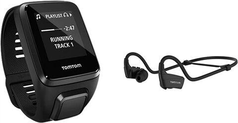 TomTom Spark 3 GPS Music + Headphone Smartwatch (Large), C