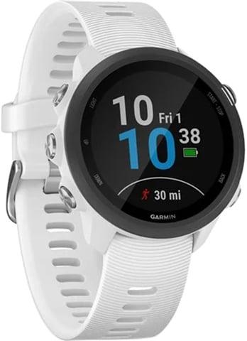 Garmin Forerunner 245 Music+GPS Running Watch - White, A