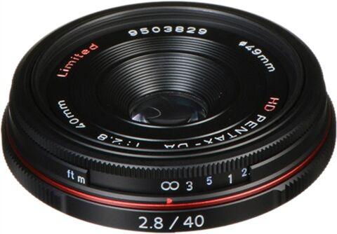 Pentax HD DA Limited 40mm F2.8 Lens