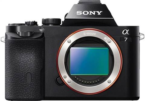 Sony Alpha 7 ILCE-7 24MP (Body Only), B