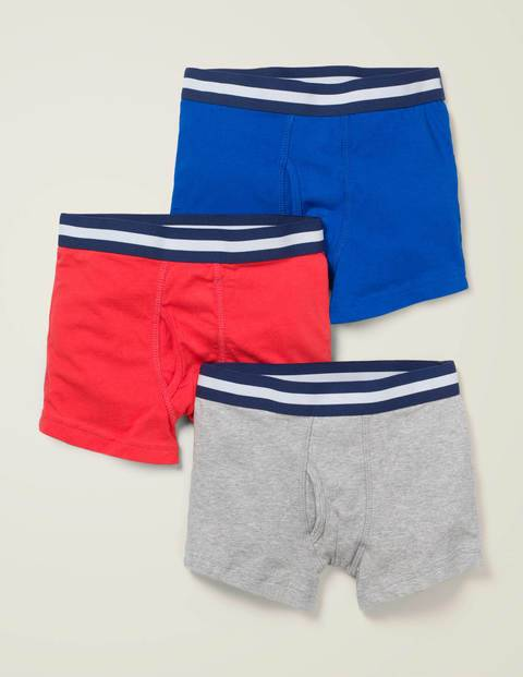 Johnnie b 3 Pack Jersey Boxers Multi Boys Boden  - Male - Multi - Size: 9-10y