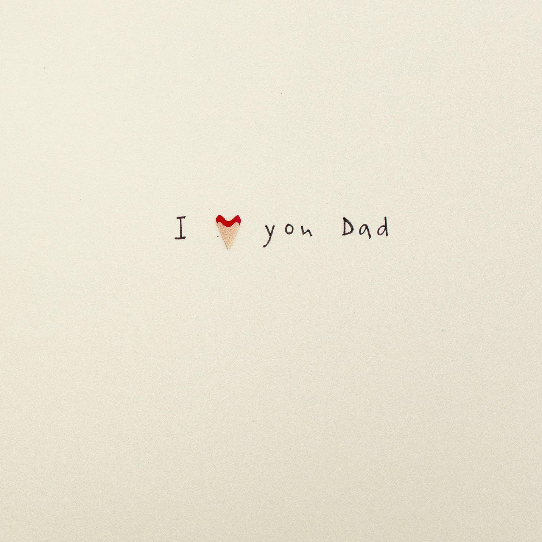 Jackson Ruth Jackson Love You Father's Day Card  - Multi