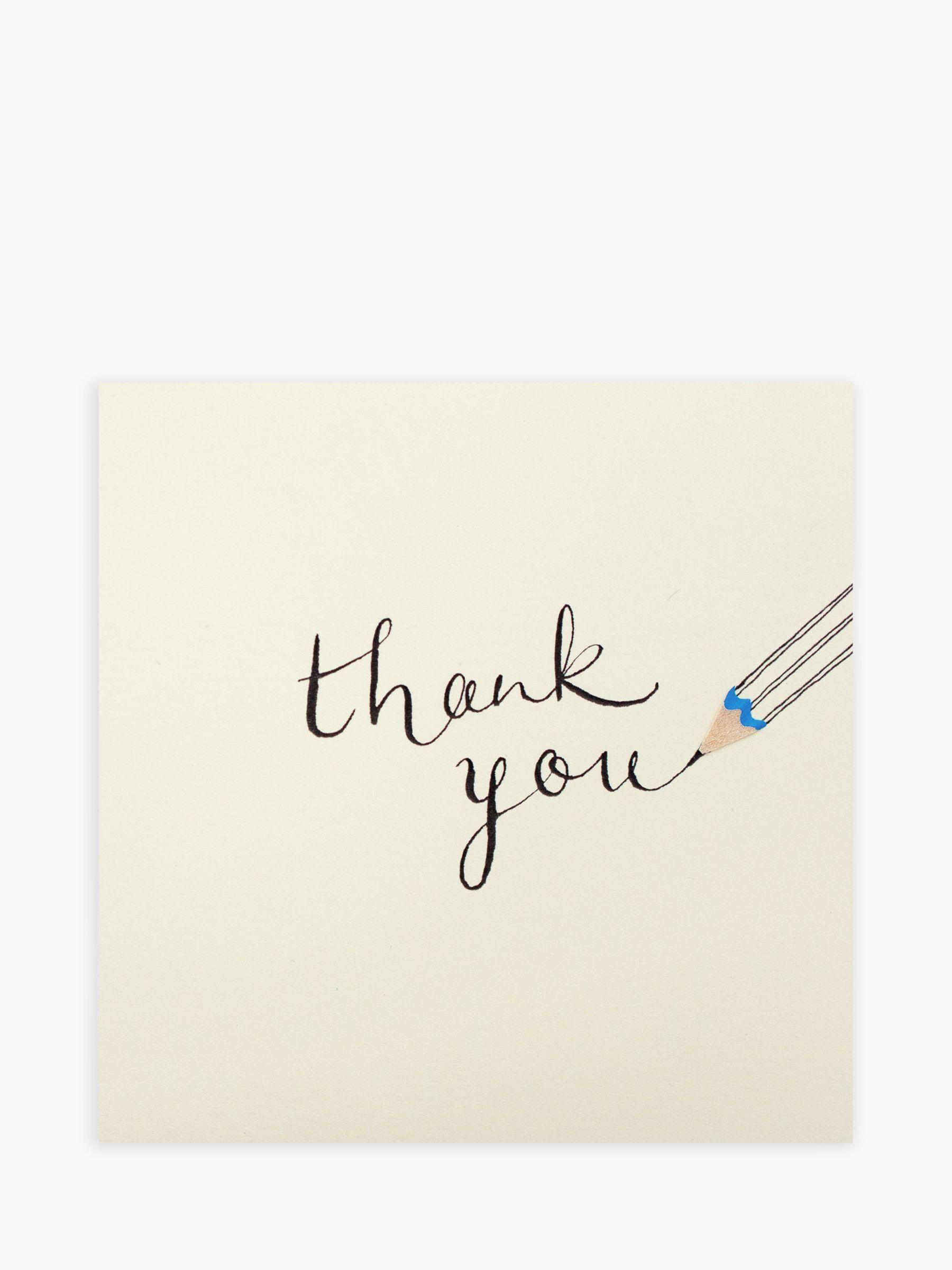Jackson Ruth Jackson Pencil Thank You Card  - Multi