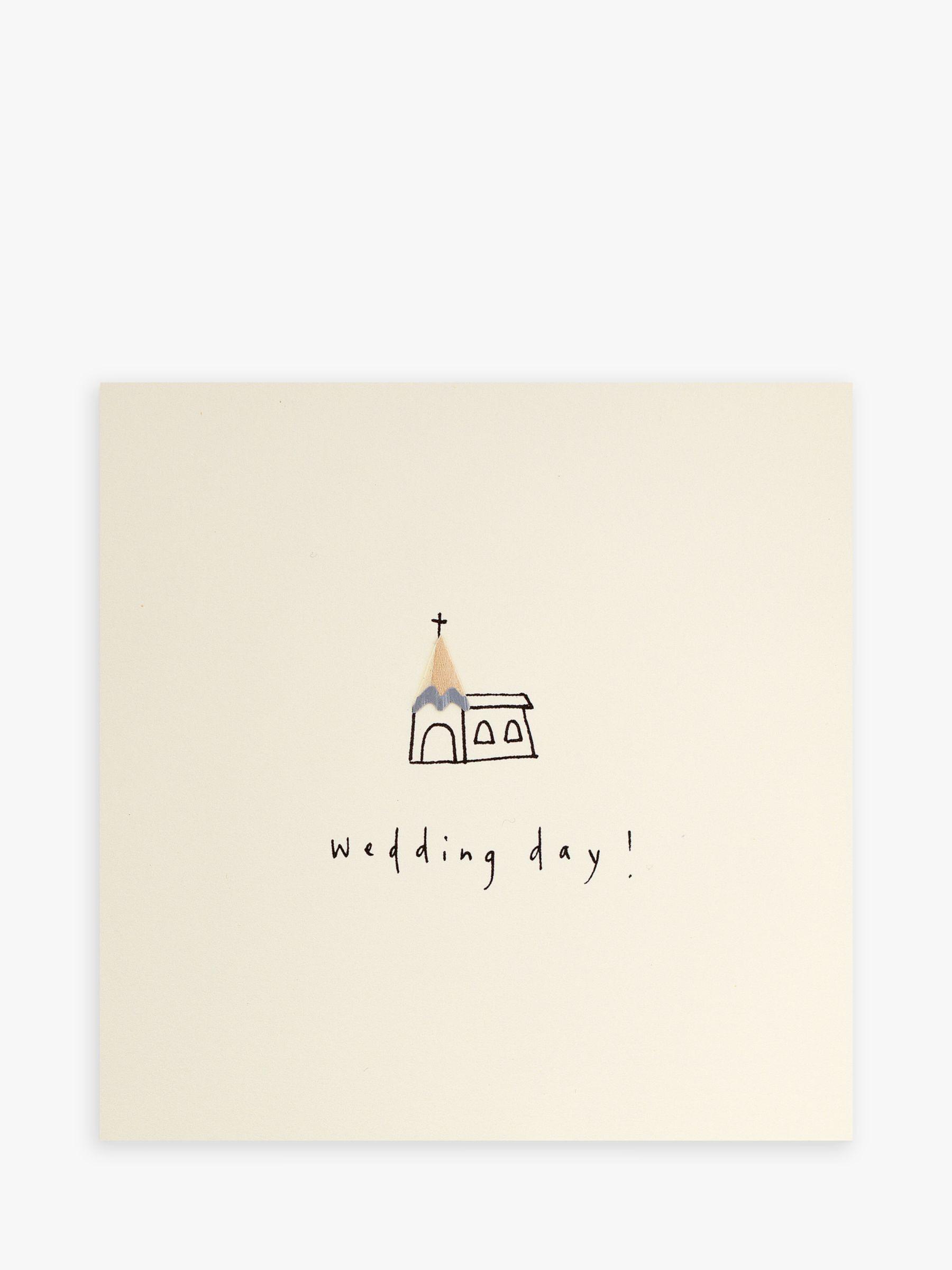 Jackson Ruth Jackson Church Wedding Card  - Multi