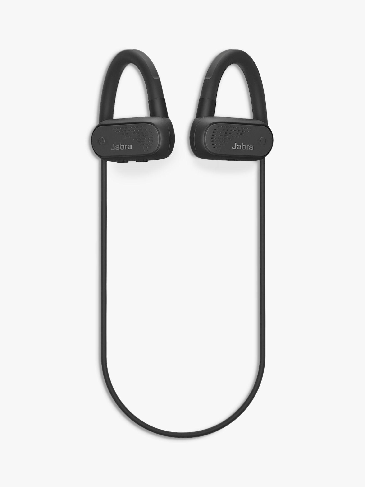 Jabra Elite Active 45e Wireless Waterproof Bluetooth In-Ear Headphones with Mic/Remote  - Black