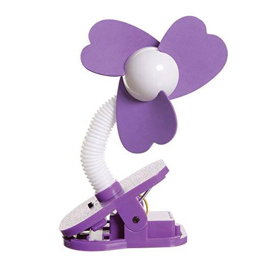 Dreambaby Portable Stroller Fan - Purple