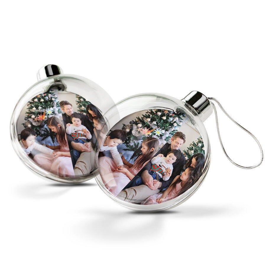 YourSurprise Christmas Baubles - Transparent (2pcs)