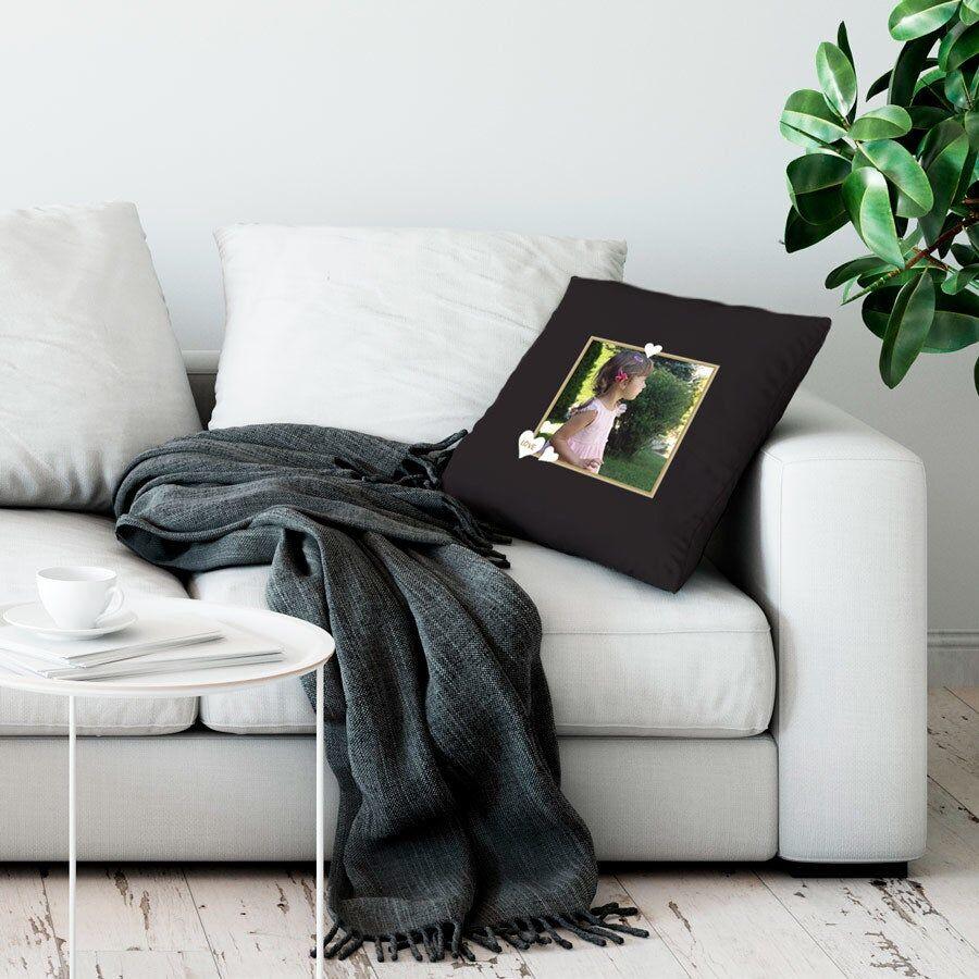 YourSurprise Cushion case - 50 x 60 cm - Black