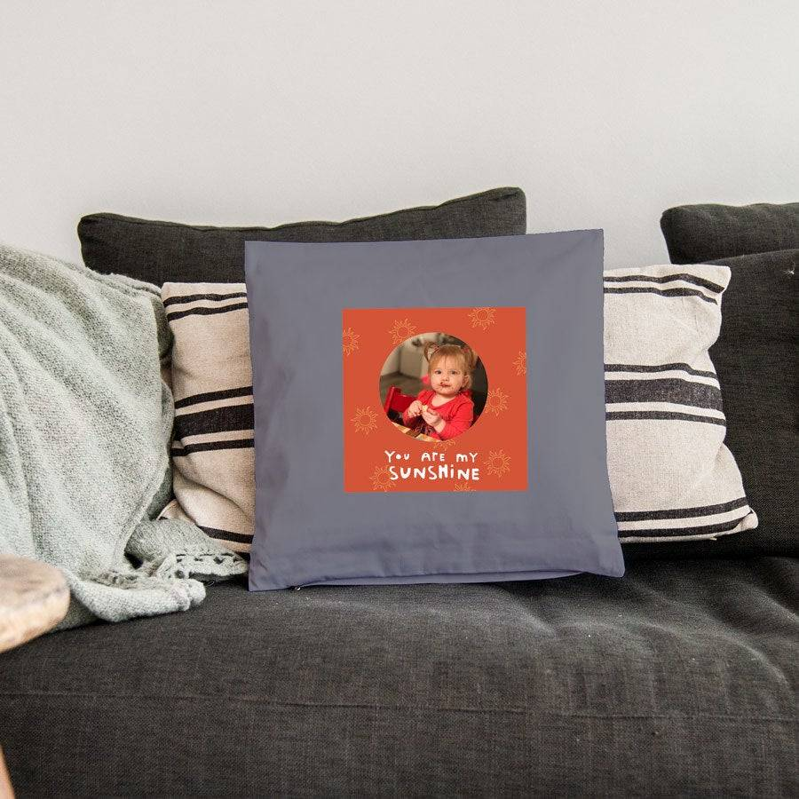YourSurprise Cushion - 40 x 40 cm - Light grey