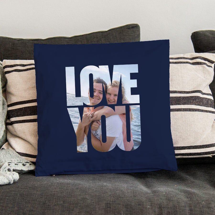 YourSurprise Cushion case - 40 x 40 cm - Navy