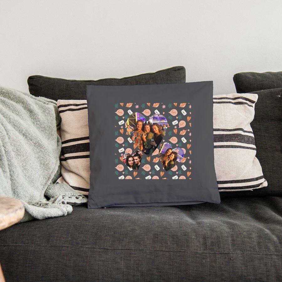 YourSurprise Cushion - 40 x 40 cm - Dark grey