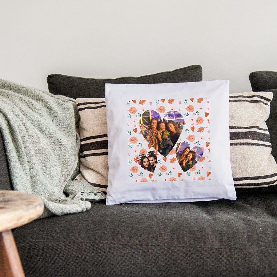 YourSurprise Cushion - 40 x 40 cm - White